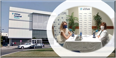 COPE se traslada a Vithas Almería para la realización de un programa especial