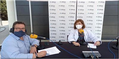 Cadena Ser se traslada a Vithas Almería para la realización de un programa especial