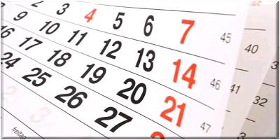 Calendario de Cierre Mes de Septiembre 2019