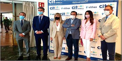 El director general del Grupo Vithas, el Dr. Pedro Rico, ponente en el encuentro de socios del CIT Marbella