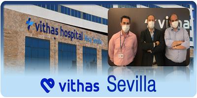 José María Ramón de Fata, Director Corporativo de Operaciones, visita las instalaciones de Vithas Sevilla