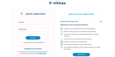 Vithas Transformación Digital: Nueva versión de la web, http://www.vithas.es